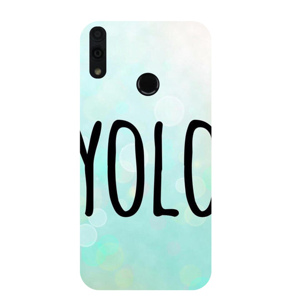 YOLO Honor 8C Back Cover-Hamee India