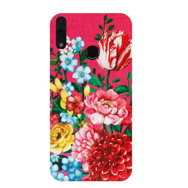 Flower Blush Honor 8C Back Cover-Hamee India