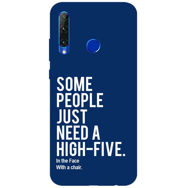 High Five Honor 20i Back Cover