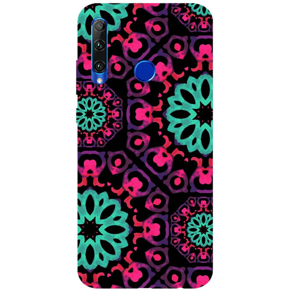 Mandala Print Honor 20i Back Cover