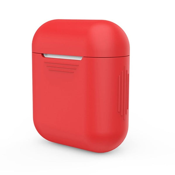 Silicone Airpods Case - Lava Red