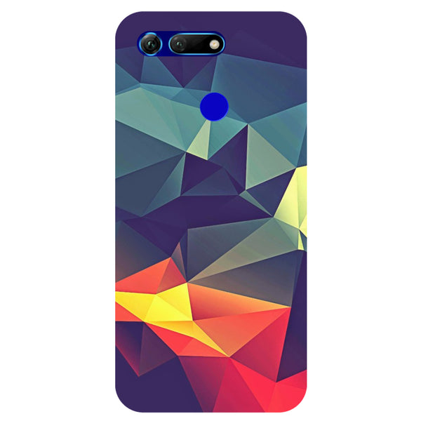 Geometric Honor View 20 Back Cover-Hamee India