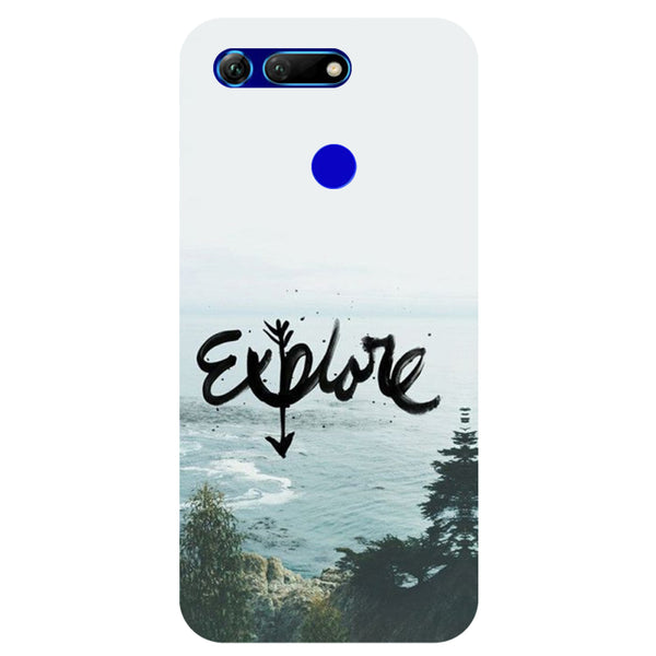 Explore Honor View 20 Back Cover-Hamee India