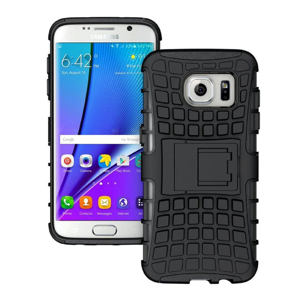 Hamee Defender Series Hybrid Kick Stand for Samsung Galaxy S7 Edge-Hamee India