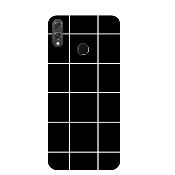 Checks Honor 8X Back Cover-Hamee India