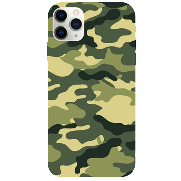 Green Camouflage iPhone 11 Pro Back Cover