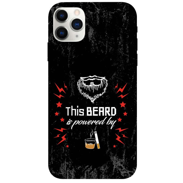 Beard Power iPhone 11 Pro Back Cover