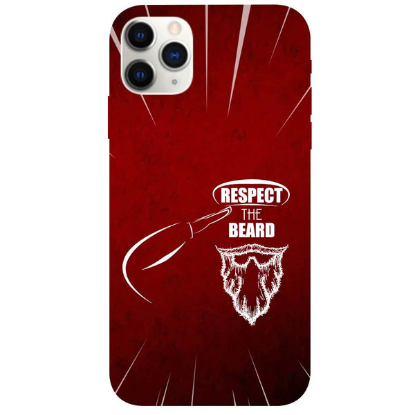 Respect Beard iPhone 11 Pro Back Cover