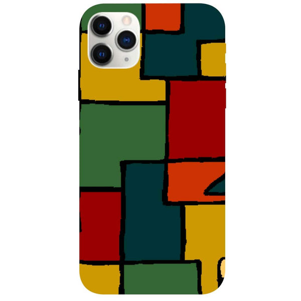 Blocks iPhone 11 Pro Back Cover
