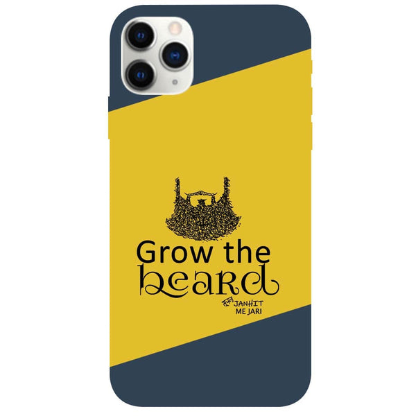 Grow Beard iPhone 11 Pro Back Cover