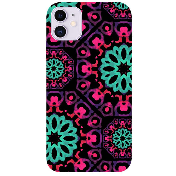 Mandala Print iPhone 11 Back Cover