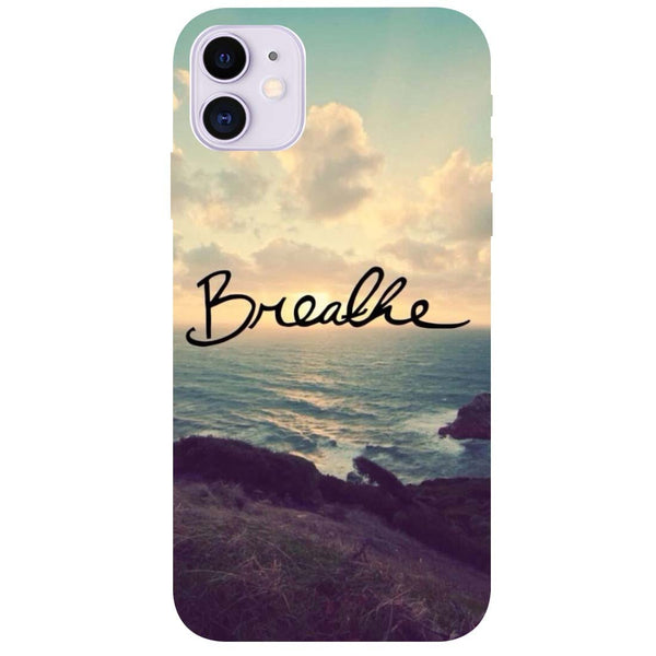 Breathe iPhone 11 Back Cover