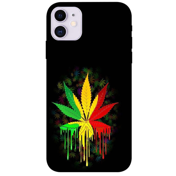Rasta iPhone 11 Back Cover