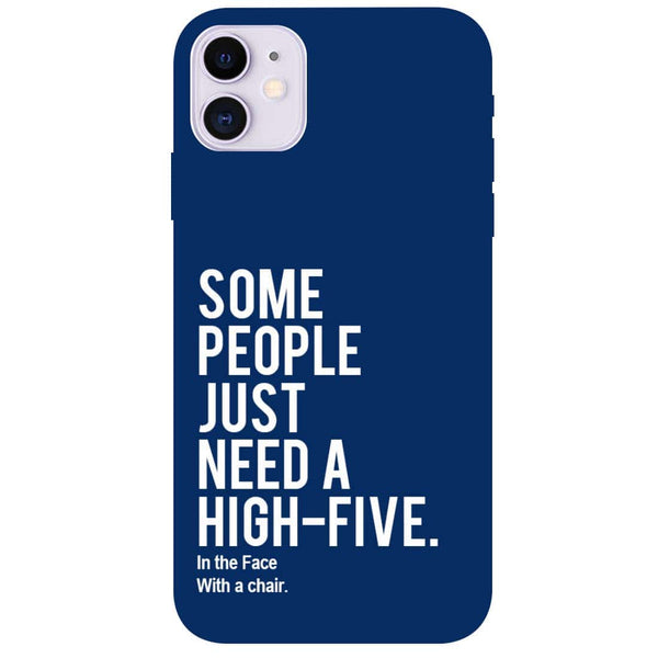 High Five iPhone 11 Back Cover