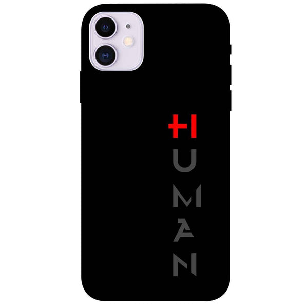 Human iPhone 11 Back Cover