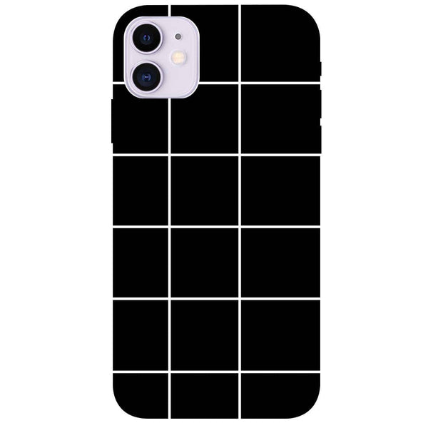 Checks iPhone 11 Back Cover