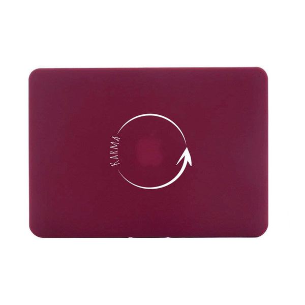"KARMA - Red MacBook Air 13"" Retina (2018) Cover"