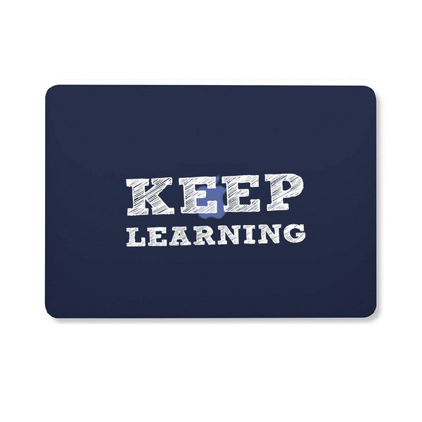 "Keep Learning - Blue MacBook Air 13"" Retina (2018) Cover"