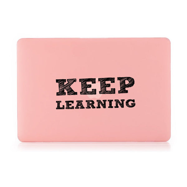 "Keep Learning - Pink MacBook Air 13"" Retina (2018) Cover"