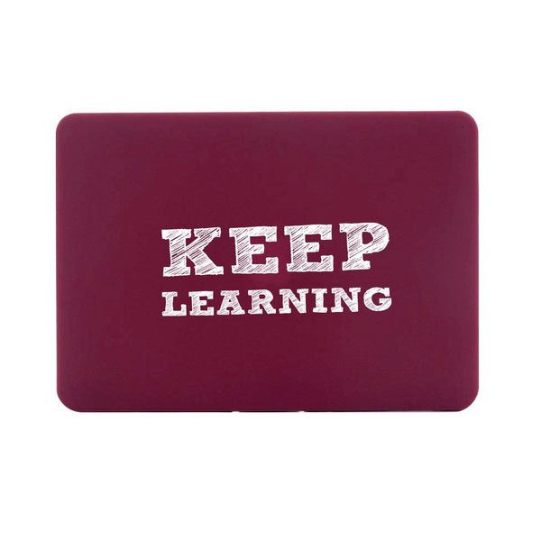 "Keep Learning - Red MacBook Air 13"" Retina (2018) Cover"