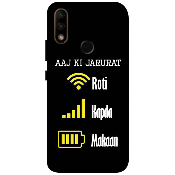 Aaj Ki Jarurat Lenovo A6 Note Back Cover