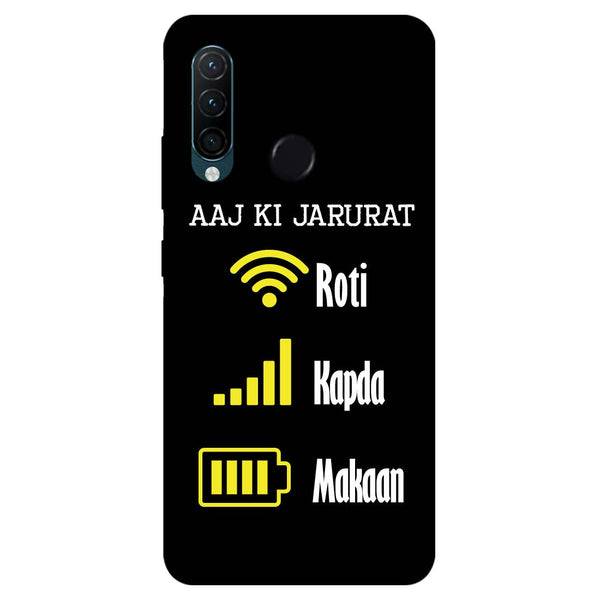 Aaj Ki Jarurat Lenovo K10 Note Back Cover