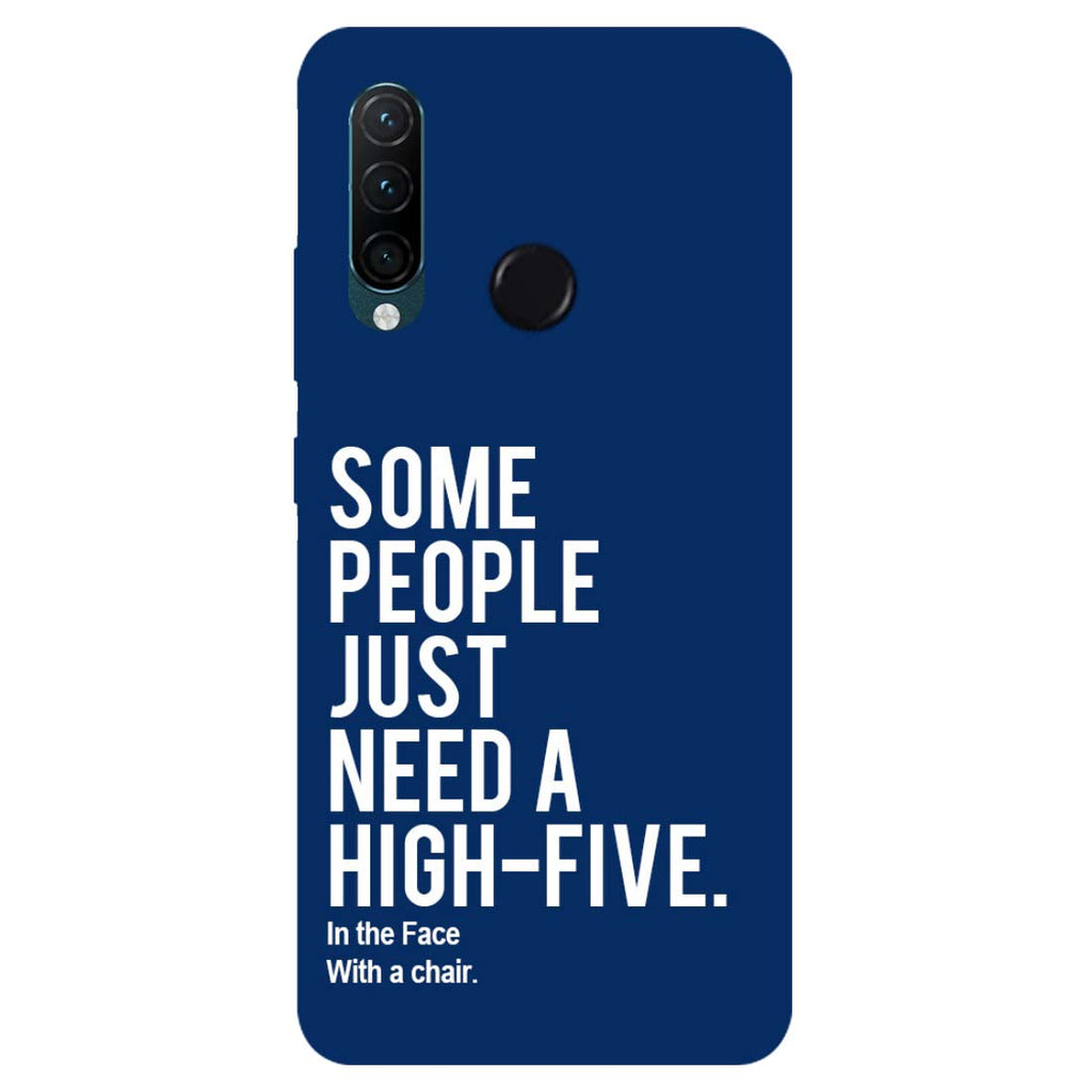 High Five Lenovo K10 Note Back Cover