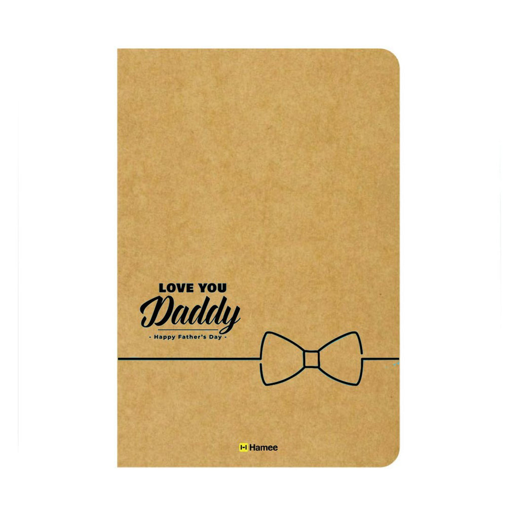 Love Dad Ruled Craft Notebook