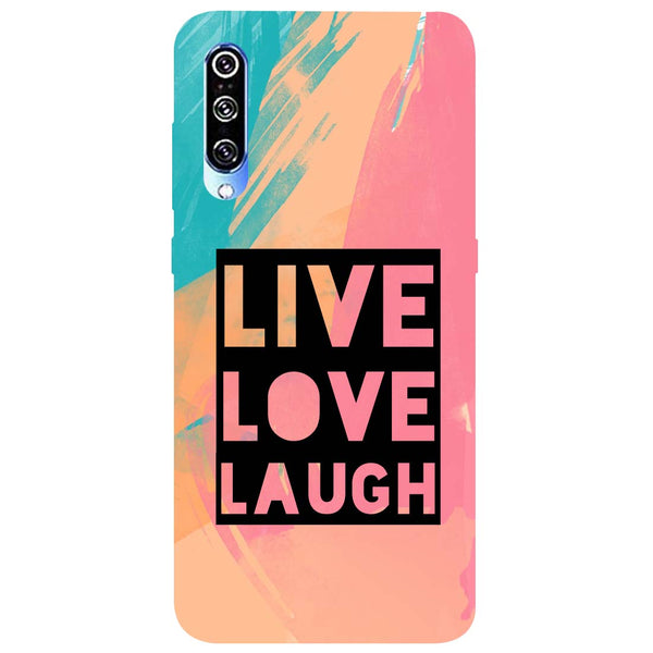 Live Love Mi A3 Back Cover