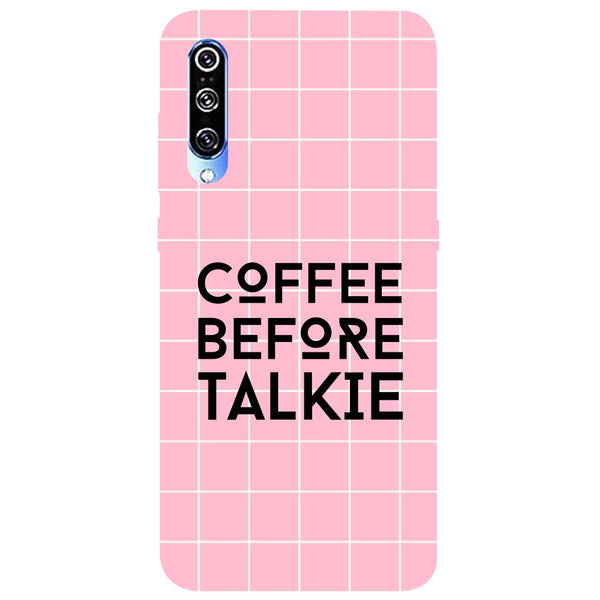 Coffee Talkie Mi A3 Back Cover
