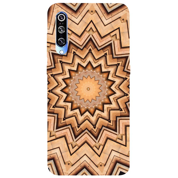 Wood Mandala Mi A3 Back Cover