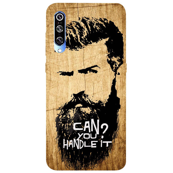 Handle Beard Mi A3 Back Cover