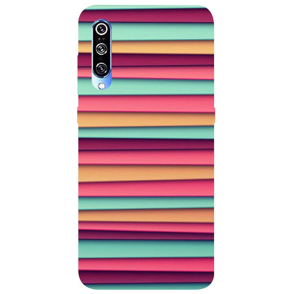 Colourful Stripes Mi A3 Back Cover