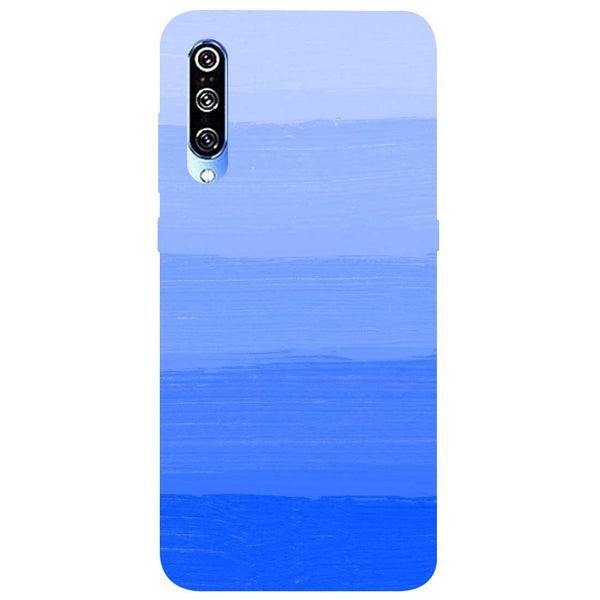 Blue Mi A3 Back Cover