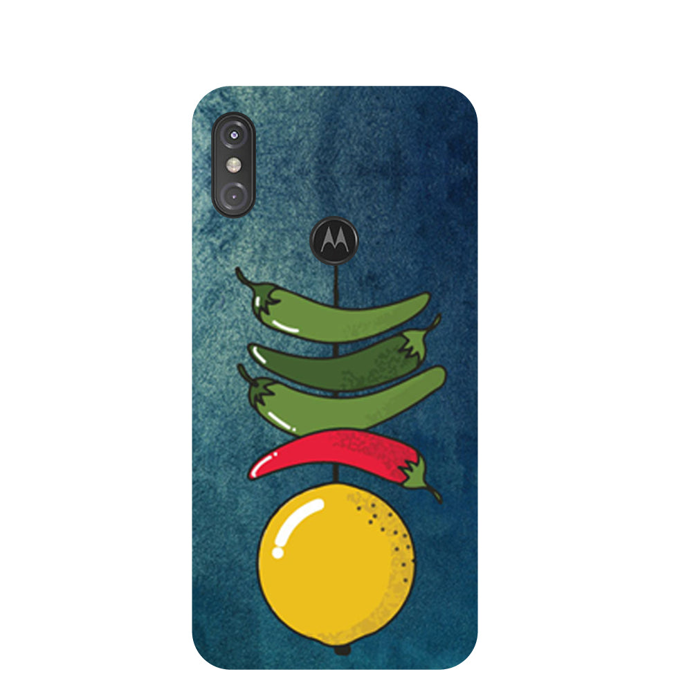 Nazar Motorola One Power Back Cover-Hamee India