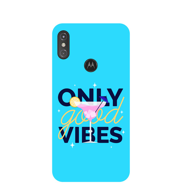 Vibes Motorola One Power Back Cover-Hamee India