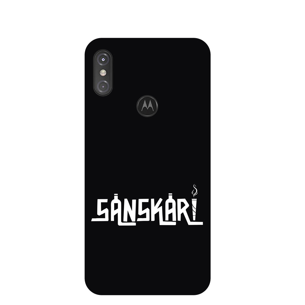 Sanskaari Motorola One Power Back Cover-Hamee India