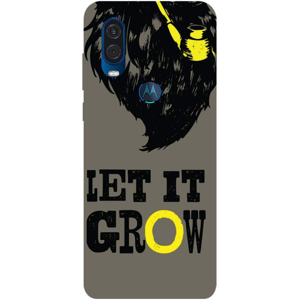 Grow Motorola One Vision Back Cover