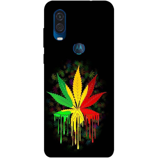 Rasta Motorola One Vision Back Cover