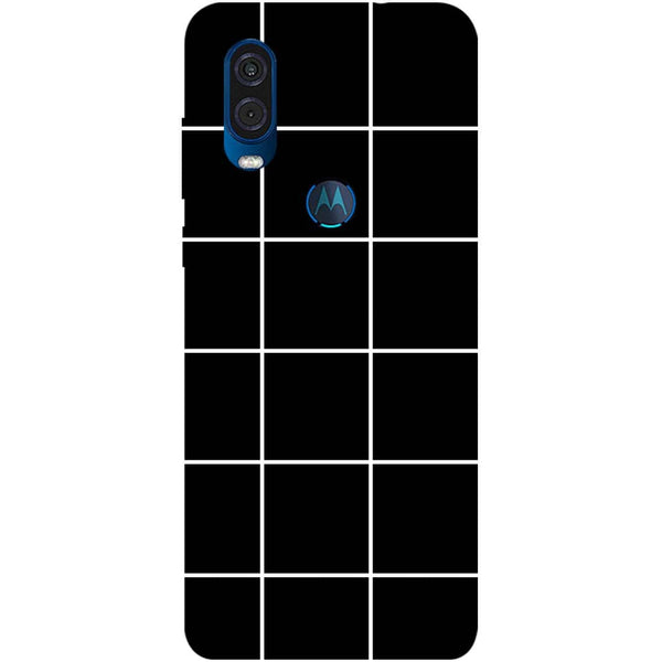 Checks Motorola One Vision Back Cover