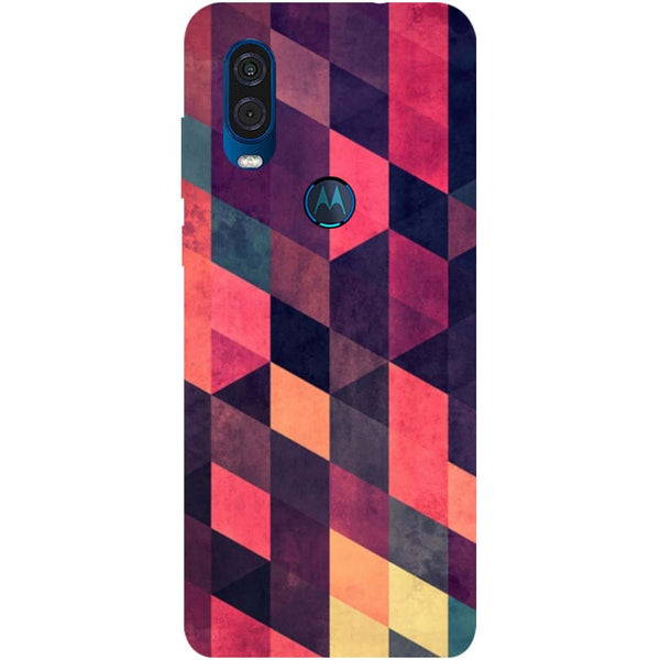 Pink Shades Motorola One Vision Back Cover