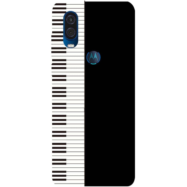 Piano Motorola One Vision Back Cover