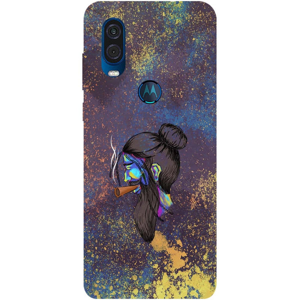 Cool Beard Motorola One Vision Back Cover