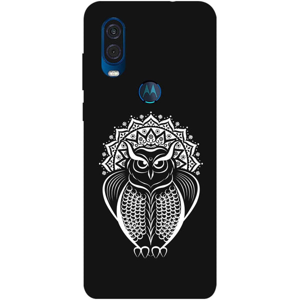 Owl Dreamcatcher Motorola One Vision Back Cover