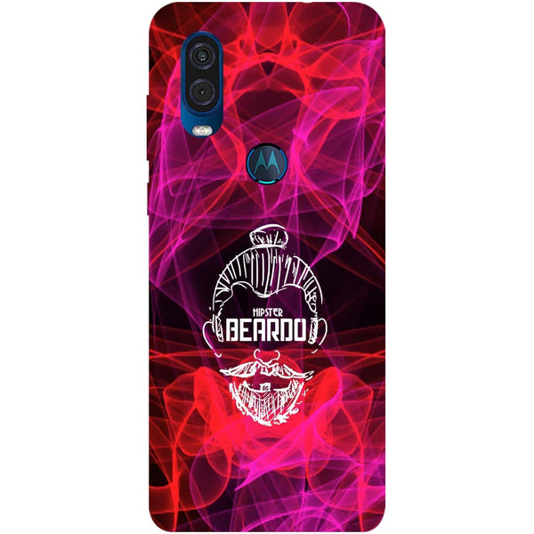 Beardo Motorola One Vision Back Cover