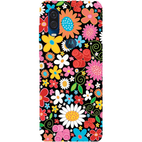Bloom Motorola One Vision Back Cover