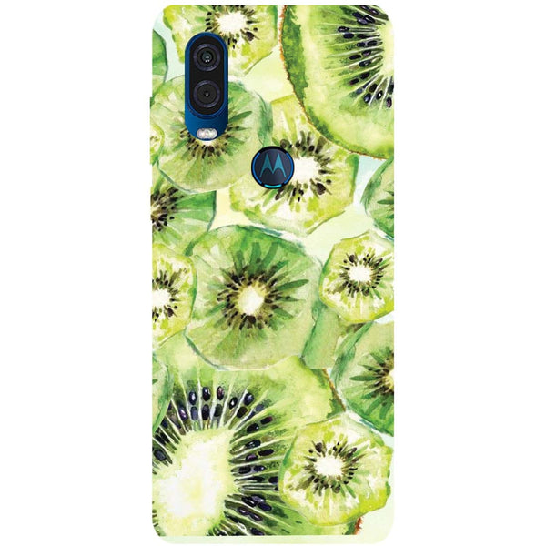 Kiwi Motorola One Vision Back Cover