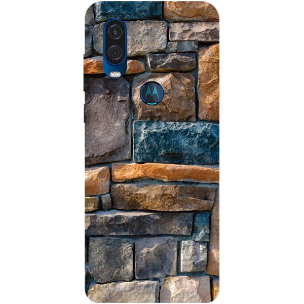 Bricks Motorola One Vision Back Cover