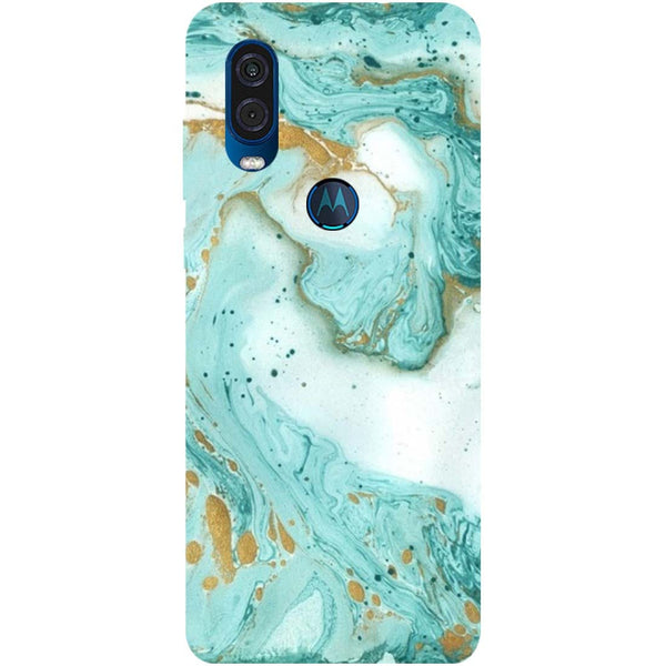 Marble Motorola One Vision Back Cover