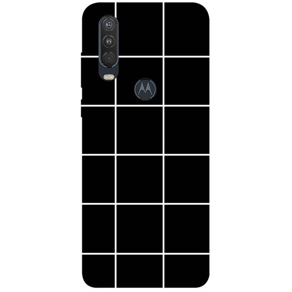 Checks Motorola One Action Back Cover